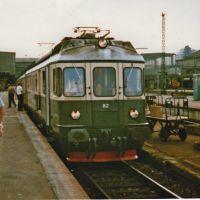 Stuttgart BDe 4/4 der SOB (Südostbahn/Schweiz) auf Sonderfahrt zurück in die Schweiz,am Haken alle 5 gebauten TEE-Aussichtswagen (1982), Штутгарт
