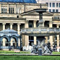 Schlossplatz, Штутгарт