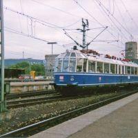 ET 491 Gläserner Zug zu Gast in Stuttgart Hauptbahnhof(1992), Штутгарт