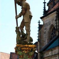 Georgsbrunnen am Holzmarkt Tübingen, Роттвайл