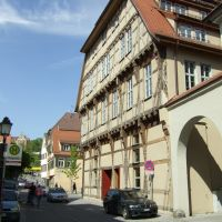 Tübingen, Schmiedtorstraße, Bürgeramt, Роттвайл