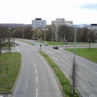 Nordring X Berliner Ring, Waldhäuser Ost, Tübingen, Роттвайл