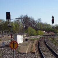 Ausfahrsignale 31P1 und 31P2, Филлинген-Швеннинген