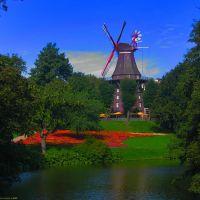 GER Bremen (Muehle) [Wallanlagenkanal] from Herdentor by KWOT, Бремен