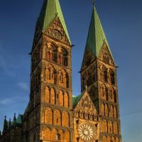 St. Petri Dom Bremen, built 11th – 13th Century, Бремен