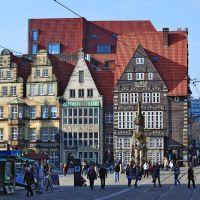 Am Markt mit Roland – Bremen - (C) by Salinos_de HB, Бремен