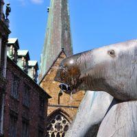 Neptunbrunnen am Domshof, Bremen - (C) by Salinos_de HB, Бремен