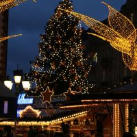 Wiesbadener Weihnachtsbaum !, Висбаден