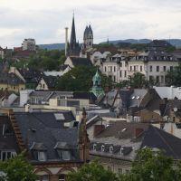 Über den Dächern von Wiesbaden (vom Karstadt Parkhaus aus), Висбаден