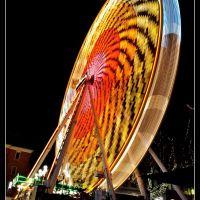 Riesenrad auf dem Mauritiusplatz II, Висбаден