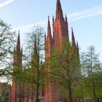 Spring in Wiesbaden 2013: Marktkirche / Market Church, Висбаден
