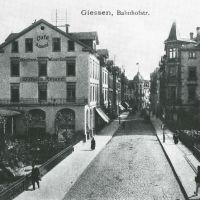 Bahnhofstr. Wieseckbrücke ca. 1905, Гиссен