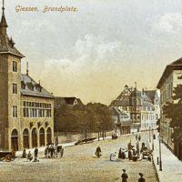 Brandplatz ca. 1890 !, Гиссен