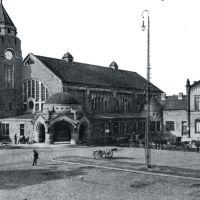 Bahnhof ca. 1900, Гиссен