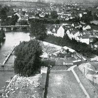 Badeanstalt an der Lahn ca. 1940 !, Гиссен