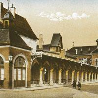 Marktlauben / Lindenplatz ca. 1900 !, Гиссен