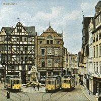 Marktplatz um 1918 !, Гиссен