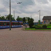 GER Darmstadt Hbf (Platz der Deutschen Einheit) Panorama by KWOT, Дармштадт