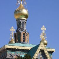 Russische Kapelle (Detail), Дармштадт