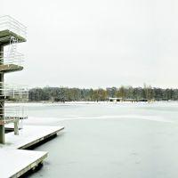 Großer Woog, lake Woog, Дармштадт