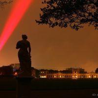 Laserscape Kassel an der Orangerie, Кассель