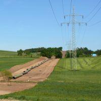 Die Gaspipeline bei Klein-Eichen (2007), Марбург-ан-дер-Лан