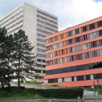 Offenbach: Klinikum, Alt- und Neubau, Оффенбах