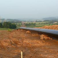 Die Gaspipeline bei Weickartshain - 2007, Руссельшейм