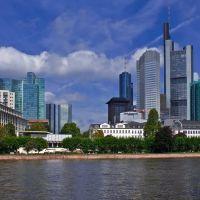 Die Skyline von Frankfurt am Main., Франкфурт-на-Майне