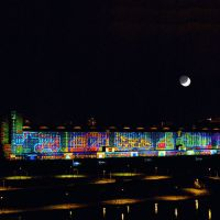 Moving Moon and ECB (Please Enlarge to Move the Moon!), Франкфурт-на-Майне