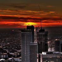 Frankfurt sunset, Франкфурт-на-Майне