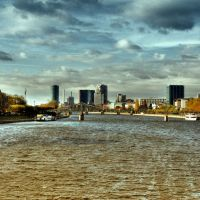 El río Main, Франкфурт-на-Майне
