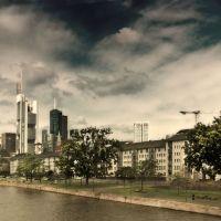 La Skyline y la Catedral, Франкфурт-на-Майне