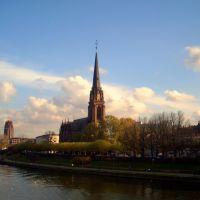 One day @ river Main, Франкфурт-на-Майне