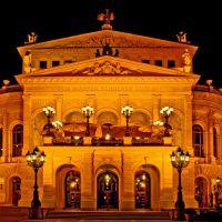 Die Alte Oper bei Nacht., Франкфурт-на-Майне