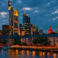 Stadt Lichter. City of Lights., Франкфурт-на-Майне