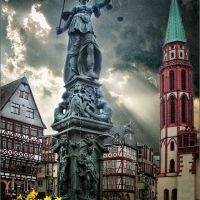 Fuente de la Justicia, Франкфурт-на-Майне