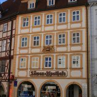 Löwen-Apotheke von 1549 in Fulda, Фульда