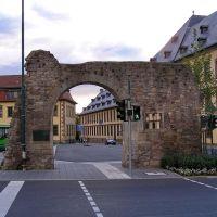 Remains of the town wall, Fulda, Sep 2004 (بقایای دیوار قدیمی شهر), Фульда