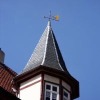 Fulda, Wetterfahne in der Altstadt, Фульда