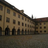 Fulda, Vonderau Museum, Innenhof, Фульда