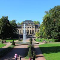 Blick zur Orangerie - KE, Фульда