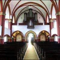 Wilhelmshaven: Interieur Lutherse kerk, Вильгельмсхавен