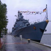 Fregatte Emden ( F 210 ) am Bontekai, Вильгельмсхавен