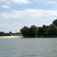 Wilhelmshaven - Blick auf das Strandbad des Banter See, Вильгельмсхавен
