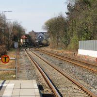 Bahnhof Wolfenbüttel Richtung Braunschweig, Волфенбуттель