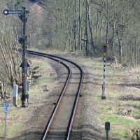 Bahnlinie Richtung Schöppenstedt, Волфенбуттель