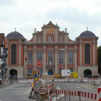 Wolfenbüttel (  St. Trinitatiskirche )  Holzmarkt.  August 2011, Волфенбуттель