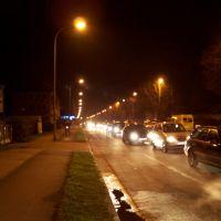 Adersheimer Strasse bei Nacht, Волфенбуттель