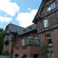 Germany, Wolfenbüttel-Halchter, just a nice house close to manor, Волфенбуттель